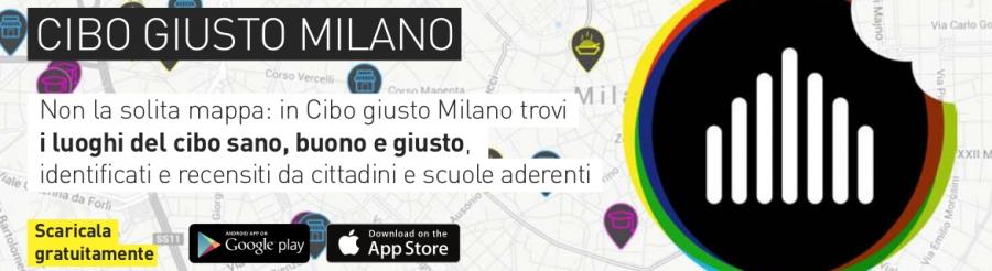 Nuova App Cibo Giusto