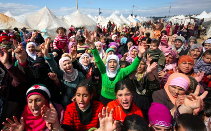 Profughi siriani in Libano