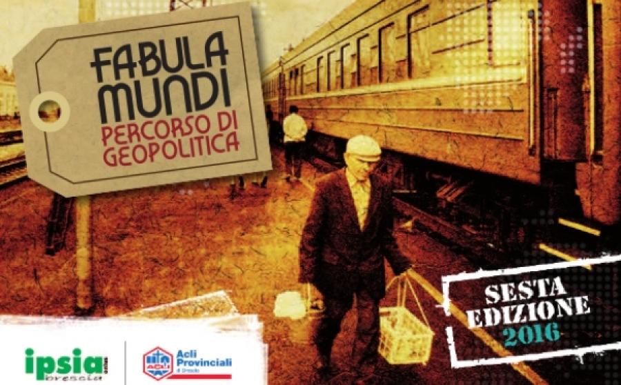 Corso di Geopolitica Fabula Mundi - VI edizione